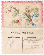 CARTE DOUBLE FLEURS - Fancy Cards