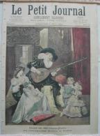 LE PETIT JOURNAL   Dimanche 5 Mai 1895  Supplément Illustré  N° 233  Bohémiens En France