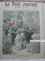 LE PETIT JOURNAL  - Samedi 21 Octobre 1893 - Supplément Illustré - N° 152 - Toulon - 1850 - 1899