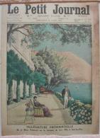 LE PETIT JOURNAL  Eze   Dimanche 19 Avril 1914  Supplément Illustré N° 1222  Eze - Journaux - Quotidiens