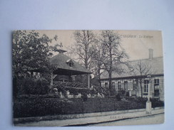 Tieghem - Tiegem //  Le Kiosque // Used 1907 Ed Crommelynck - Anzegem