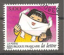 3064 France 1997 Oblitéré Les Journées De La Lettre La Réceptrice D´une Lettre - France