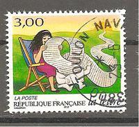 France Yv. N°3065 - Les Journées De La Lettre - Sa Longue Et Captivante Lecture - Oblitéré - France