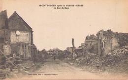 Montdidier Apres La Grande Guerre La Rue De Roye - Montdidier