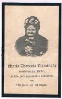 100 Jarige. Dp. Vleminckx Maria. Wed. Diddens Willem. ° Leest 1805 † Duffel 1913  (2 Scan´s) - Religion & Esotérisme
