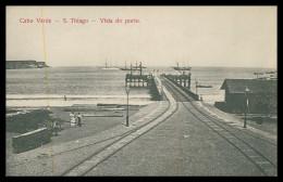 SANTIAGO - Vista Do Porto  Carte Postale - Cap Vert