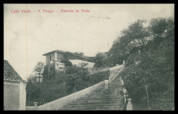 SANTIAGO - PRAIA - Entrada Da Praia  Carte Postale - Cap Vert