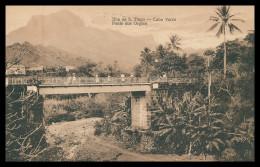 SANTIAGO - Ponte Dos Orgãos ( Ed. Excl. Levy & Irmãos Nº 14) Carte Postale - Cap Vert