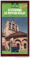 1 Carte - Ign St Etienne Le Puy En Velay - Kaarten