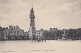 EVREUX - La Tour De L'Horloge - Animé - Evreux