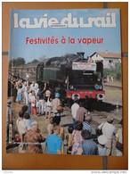 Vie Du Rail N° 1956 1984 Vapeur Puyoo Mauléon  Saint Palais Z5100  Amand Montrond Queyras  Viso Saint Dizier Chalindrey - Trains