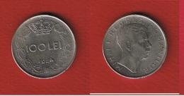 Roumanie  --  100 Lei 1944  --  KM # 64  --  état  TTB --  Petits Coups Tranche - Roumanie