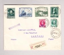 Belgien Bruxelles 3.6.1930 R-Brief Nach Castres F - Belgique