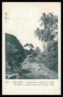 SANTIAGO - Caiada Interior Da Ilha De S. Thiago ( Nº 4)  Carte Postale - Cap Vert