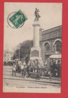 Lorient  -  Place Et Statue Bisson - Lorient