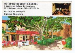 12052-LE-30-Hôtel L' Escale-Avec Garage 30220 Aigues Mortes---------vues Multiples Diverses - Aigues-Mortes