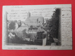 Ecaussinnes 1902 L'église Saint Remy - Ecaussinnes