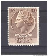 Italie  -  1954  :  Yv  684  **  Luxe - 6. 1946-.. Republic