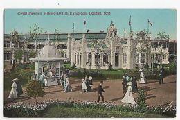 Franco British Exhibition 1908 Royal Pavilion Postcard, A424a - Expositions