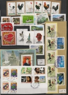 COLLECTION 59 TIMBRES DIFFERENTS Pour LETTRE PRIORITAIRE. 2 SCANS. - Collections