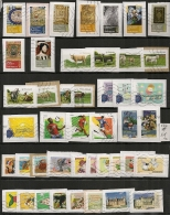 COLLECTION 62 TIMBRES DIFFERENTS Pour LETTRE VERTE. 2 SCANS. - Collections