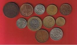 Portugal  --  Lot De 11 Monnaies - Portugal