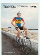 Leo SCHOENENBERGER . 2 Scans. Cyclisme. Dromedario Laminox 1985 - Ciclismo