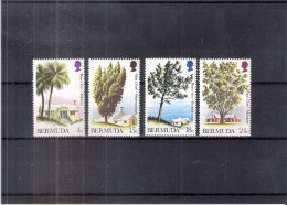 Trees - Bermuda - Yv.286/89 - XX/MNH - Complete Set (to See) - Bermudes