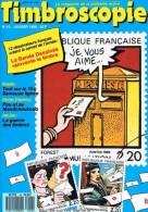 Timbroscopie Numéro 43 – 01/1988. Le Magazine De La Philatélie Active. - Français (àpd. 1941)
