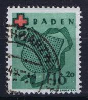 Baden  1949  Mi 42 Used /obl. - Franse Zone