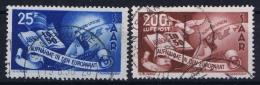 Saar  1950  Mi 297 - 298  Used /obl. Airmail - Französische Zone