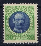Danish West Indies : 1907 Mi  44 MH/* Falz/ Charniere - Denmark (West Indies)