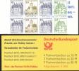 Markenheftchen Bund Postfr. MH 22 II Letterset Am K3 - [7] République Fédérale