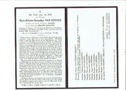 1846  MARIA VAN HOOREN MOERE 1925 + BRUGGE 1949 - Images Religieuses
