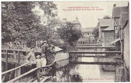 *VIMOUTIERS (61) - La Vie, Vue Prise Du Pont De La Rue De Lizieux*. Editeur P. Bunel, Vimoutiers. - Vimoutiers