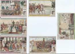Chromos Liebig - Ed Belge - Sanguinetti S_1021 - Les Autorités Suprêmes De L'ancienne Rome  - 1911 - Complet - Cote 10 E - Liebig