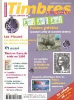 TIMBRES Magazine N°108 – 01/2010. L'officiel De La Philatélie - Français (àpd. 1941)