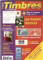 TIMBRES Magazine N°87 – 02/2008. L'officiel De La Philatélie - Français (àpd. 1941)