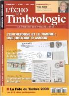 L'ECHO DE LA TIMBROLOGIE. N°1815. FÉVRIER 2008. La Tribune Des Philatélistes. - Français (àpd. 1941)
