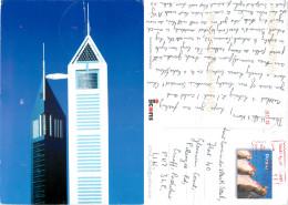 Emirates Towers, Dubai, UAE Postcard Posted 2012 Meter - Emirats Arabes Unis