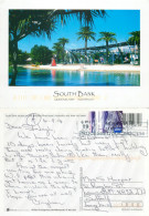 South Bank, Queensland, Australia Postcard Posted 2014 Stamp - Australie