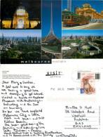 Melbourne, Victoria, Australia Postcard Posted 2012 Stamp - Melbourne