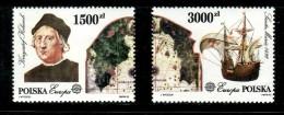 POLAND 1992 EUROPA CEPT  MNH - 1992