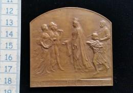 Medaille Bronze Exposition Universelle Internationale 1913 Wereld Tentoonstelling - Royaume-Uni