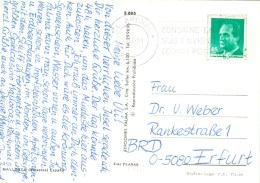 Spanien El Arenal MWST 1991 Postcode - Poststempel - Freistempel