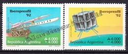 Argentina 1991 Yvert 1770 - 71, Iberoprenfil 92, International Philatelic Exhibition - MNH - Neufs