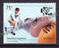 Argentina 1999 Yvert 2082, Rugby Centenary - MNH - Argentinien