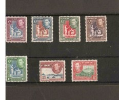 ST VINCENT 1949 4 OF THE TOP VALUES OF THE SET + 3 LOW VALUES SG 164, 165, 166, 174 - 176 MOUNTED MINT Cat £23+ - St.Vincent (...-1979)