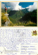 Milford Track, New Zealand Postcard Posted 1997 Stamp - New Zealand