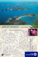 Bay Of Islands, New Zealand Postcard Posted 2002 Stamp - Nieuw-Zeeland